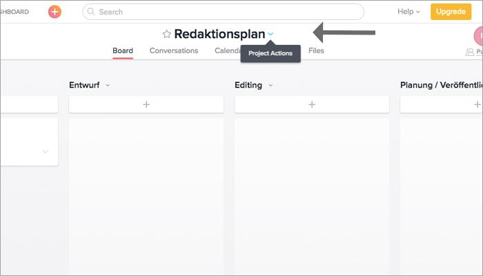 Vierter Schritt zum Redaktionsplan: Mit Google Kalender synchronisieren