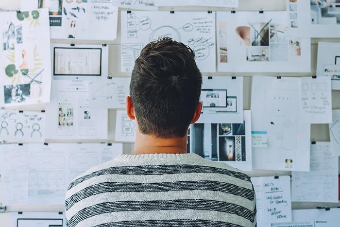 Mitarbeiter Brainstorming