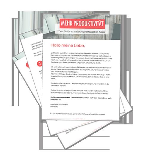 Guide zu mehr Produktivität und Organisation im Alltag